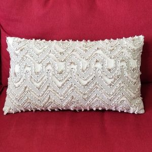 Cost Plus World Market  Woven Accent Pillow